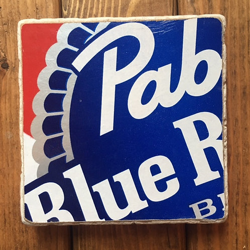 Pabst Blue Ribbon Coaster