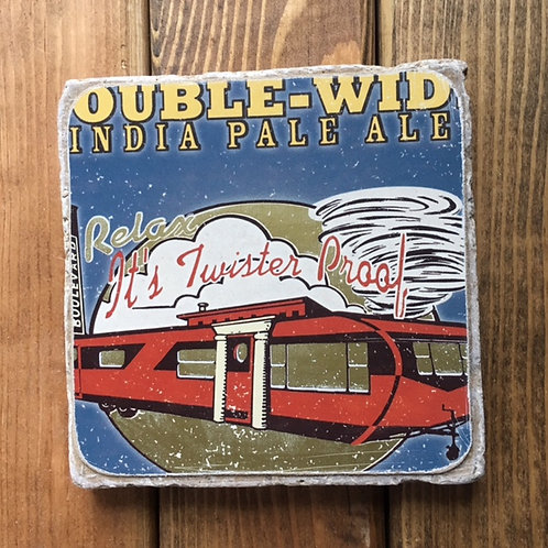 Boulevard Double Wide IPA Coaster