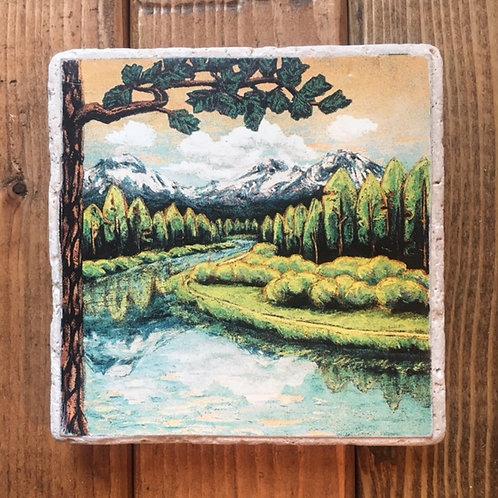 Deschutes River Ale Coaster