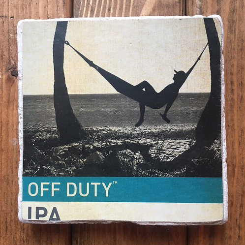 Squatters Off Duty IPA Coaster