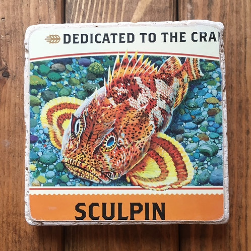 Ballast Point Sculpin Coaster