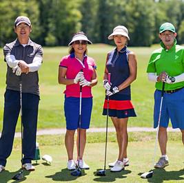 Foursome Golfers