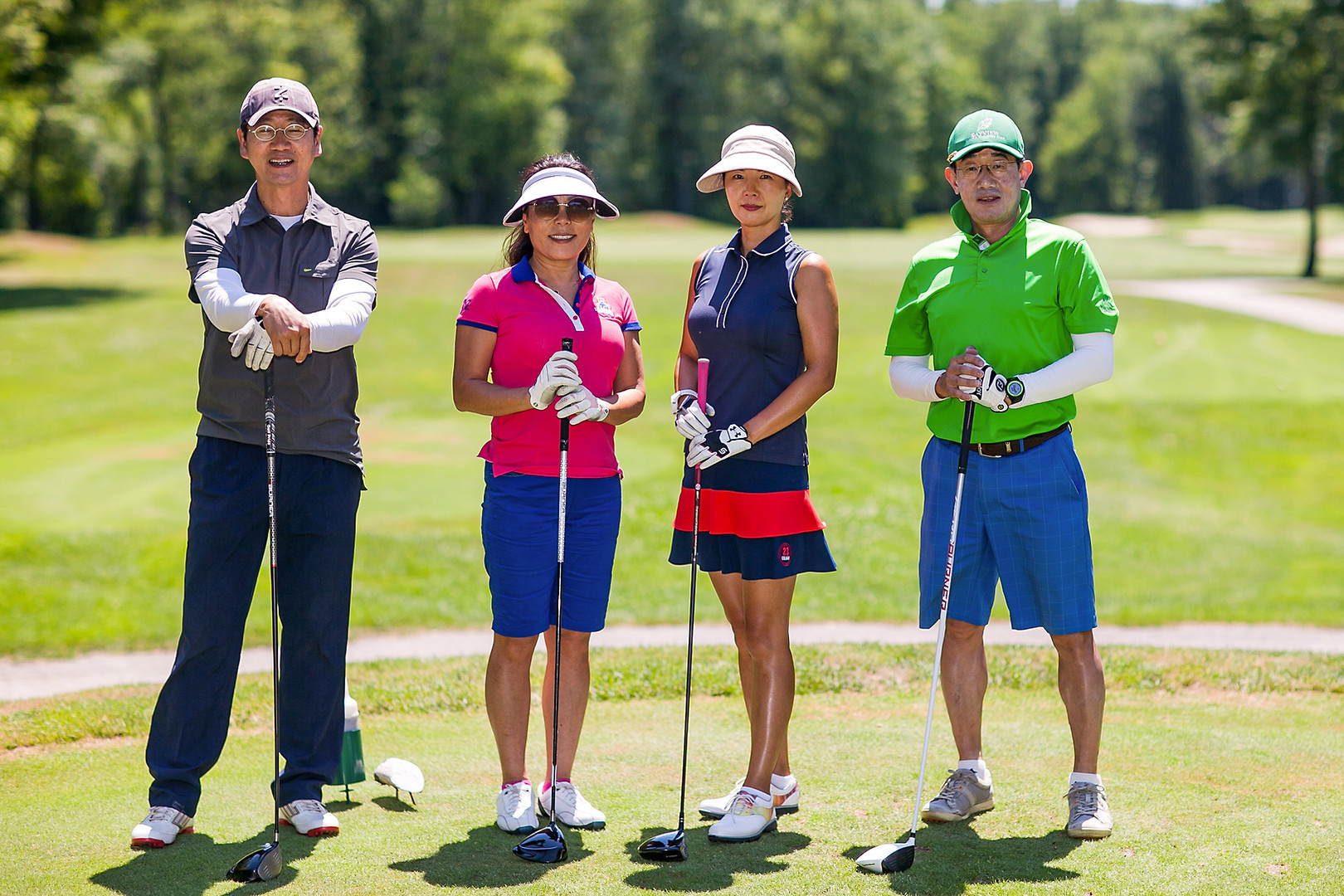 A selection of images of golf tournaments that have taken place at Silver Lakes Golf and Country Club in East Gwillimbury, Ontario
