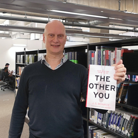 """The exciting brand new novel by J.S. Monroe """"The Other You"""""""
