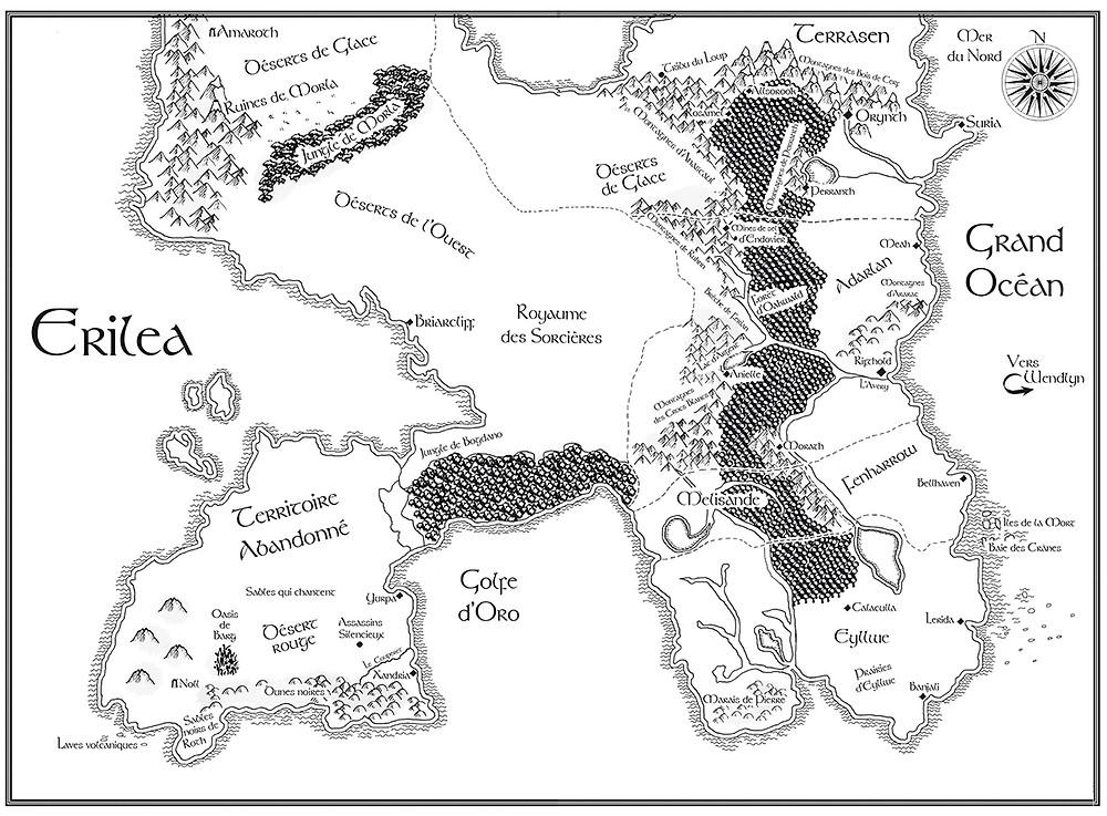 Carte d' Erilea Keleana