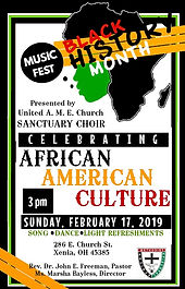 021719 - Black History Month Music Fest.