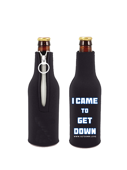 I CAME TO GET DOWN Neoprene Bottle Suit Koozie, i came to get down shirts, get down love, terry mac, hero, shirts