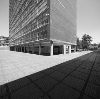 Fotoarbeit Architektur Mexico City (digital)