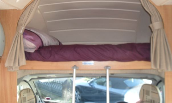 Over Cab Double Luton Bed