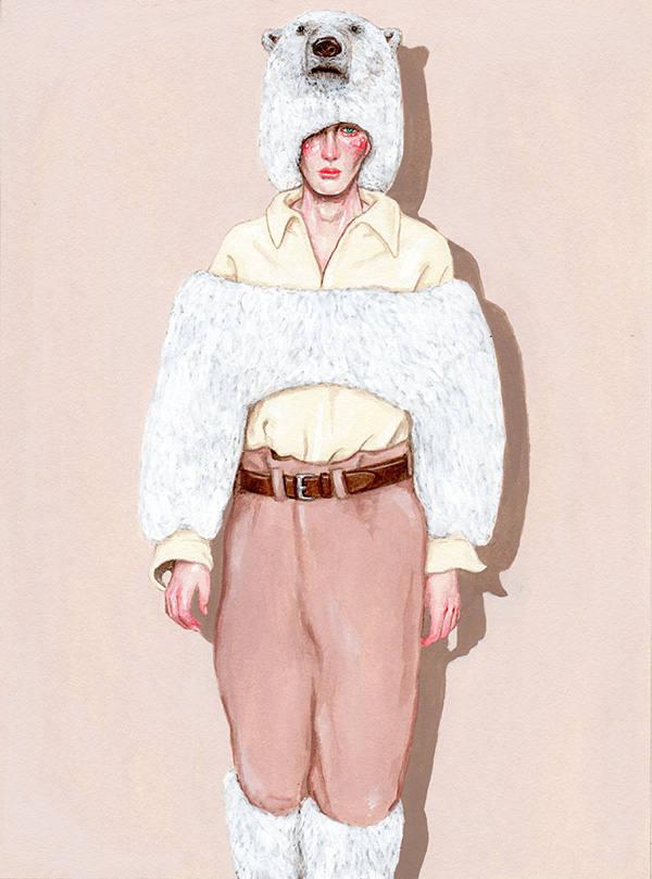 Vêtements d'ours polaires