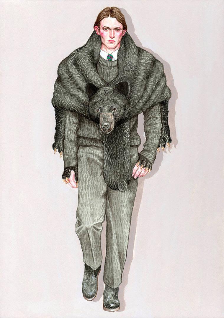 アメリカグマ_Vêtements d'ours