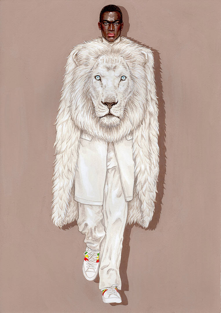 ホワイトライオン