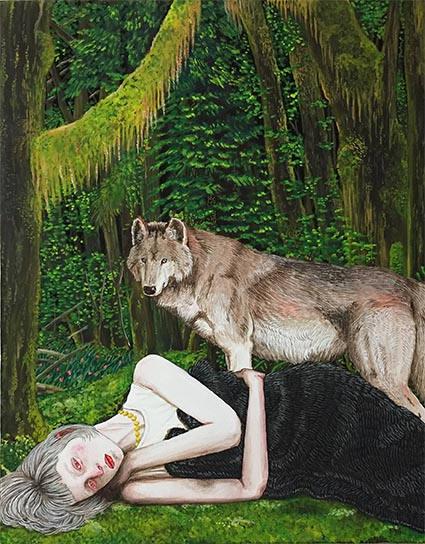 眠れる森 Sleeping forest