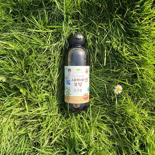 Naturally brewed soy sauce 새미네부엌 국간장 (450ml)