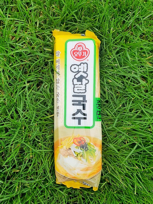 Wheat Noodle - Joongmyeon (Thick) - 500g중면