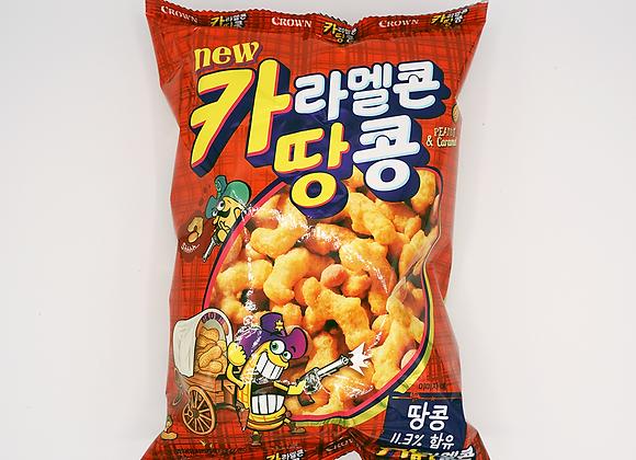 Caramel & Peanut Snack 72G (카라멜콘땅콩)