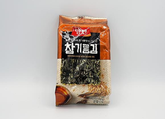Seasoned Crispy Seaweed 5g (도시락김)