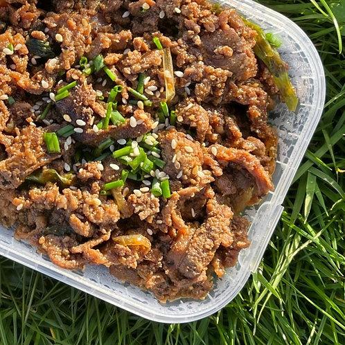 Stir fried Pork & Kimchi 김치제육볶음