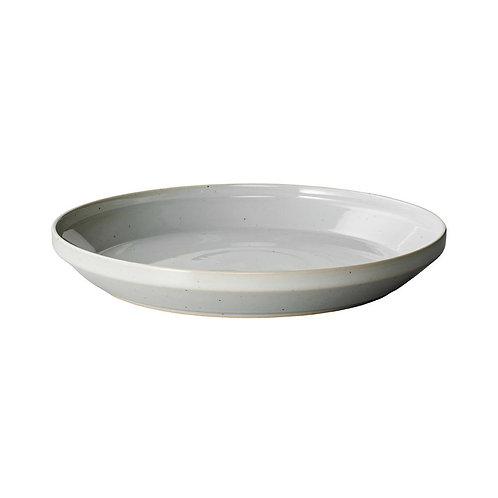 KINTO plate 24cm (RIM, Earth Grey)
