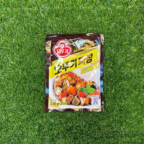 Ottogi Jjajang black bean powder (100g) 오뚜기짜장