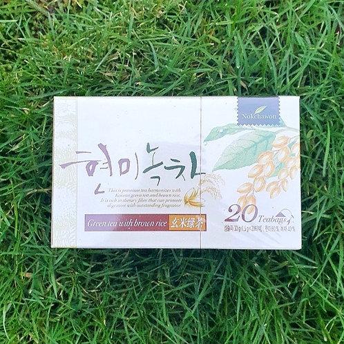 Green tea with brown rice 현미녹차 (30g)