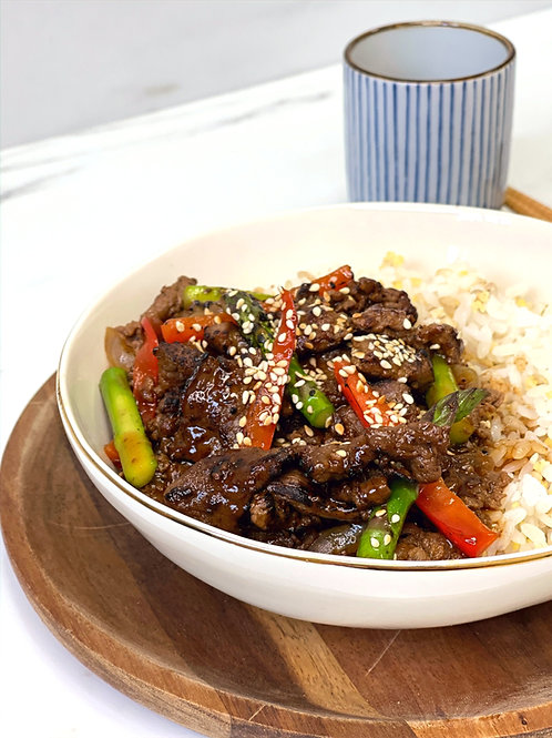 Beef Bulgogi 불고기
