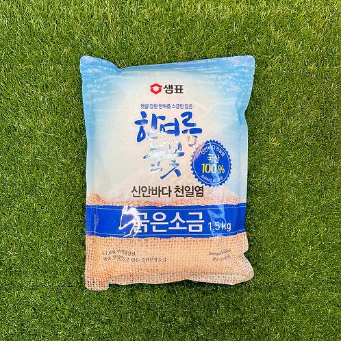 Korean sea salt (coarse) 굵은소금