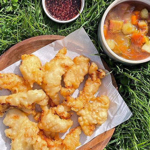 Sweet sour chicken 탕수육