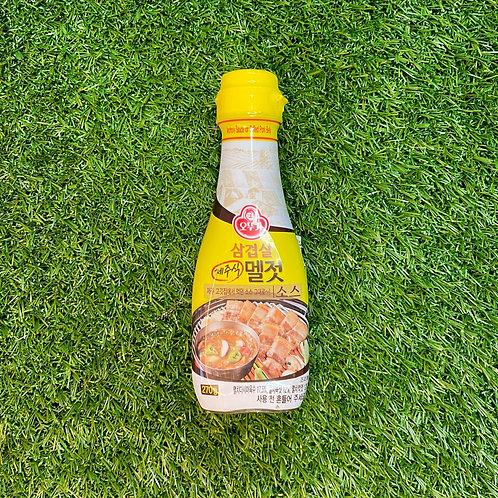 Anchovy sauce for Korean BBQ 제주식 멜젓