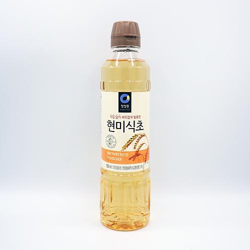 Brown rice vinegar 500ml