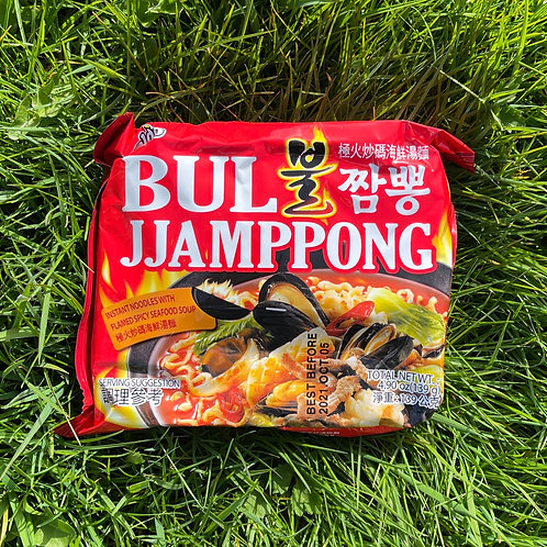 Bul Jjam-ppong noodle 팔도 불짬뽕
