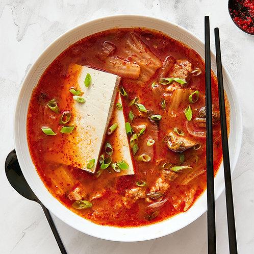Kimchi Pork Stew for Two: 김치찜 (2인분)