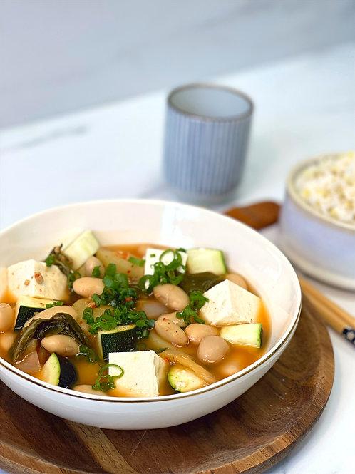 Doenjang & Bean Stew 된장찌개