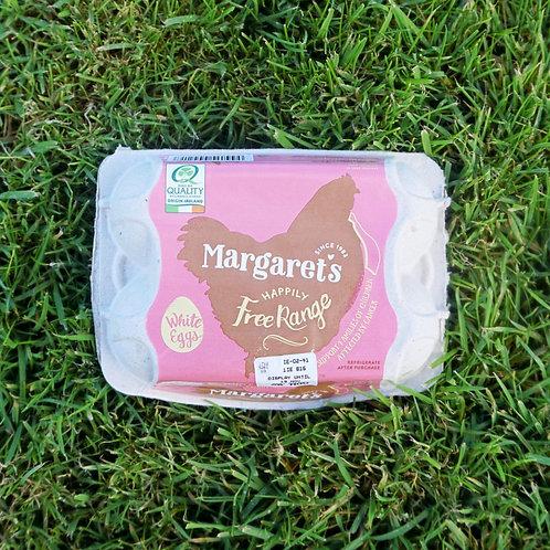 Margaret's Free Range Eggs (White)