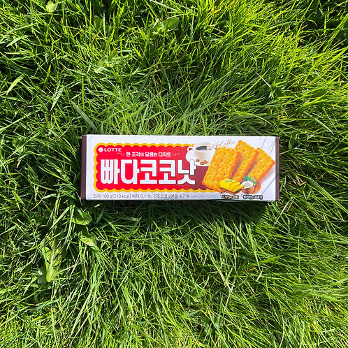 Butter Coconut 롯데 빠다코코코낫 (100g)