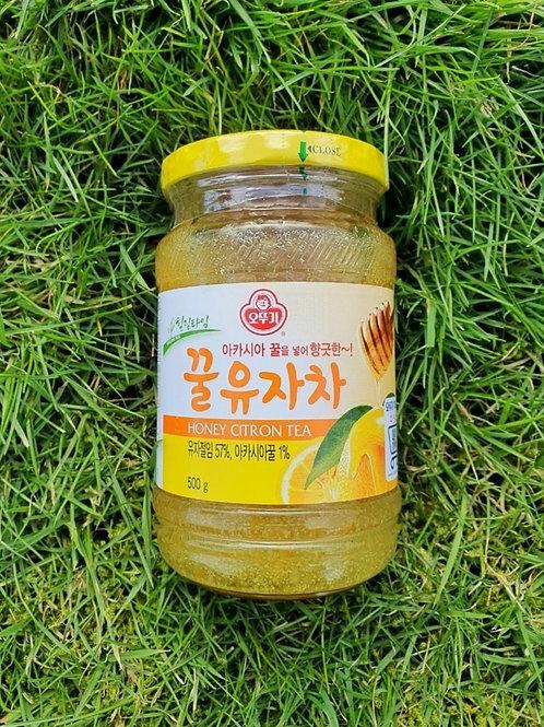 Citron tea 꿀유자차 (500g)
