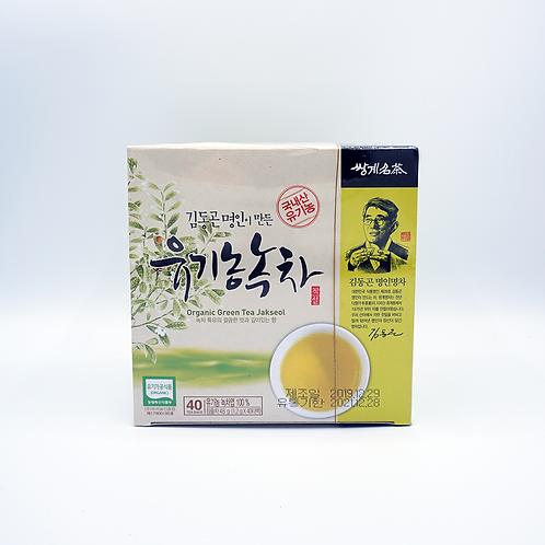 Organic Green Tea Jakseol (유기농녹차)