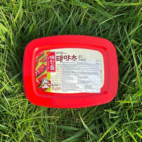 Gochujang (fermented chilli paste) 고추장 - 200g