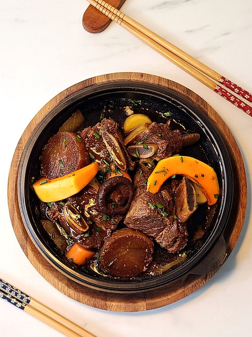 Beef Short-ribs Galbi for Two: 갈비찜 (2인분)
