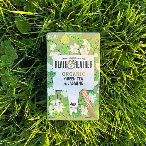 Heart & Heather Organic Green tea & Jasmine (30g)