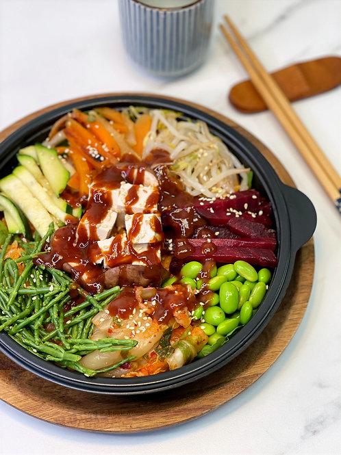 Tofu Bibimbap 비건비빔밥