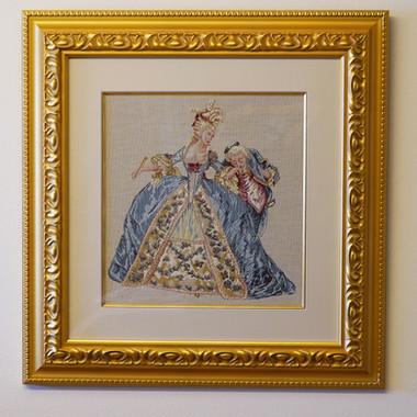 PC156絵画 マリー=アントワネット