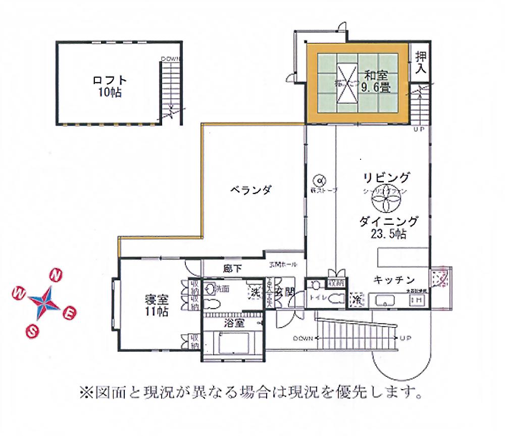土地付建物 新軽井沢