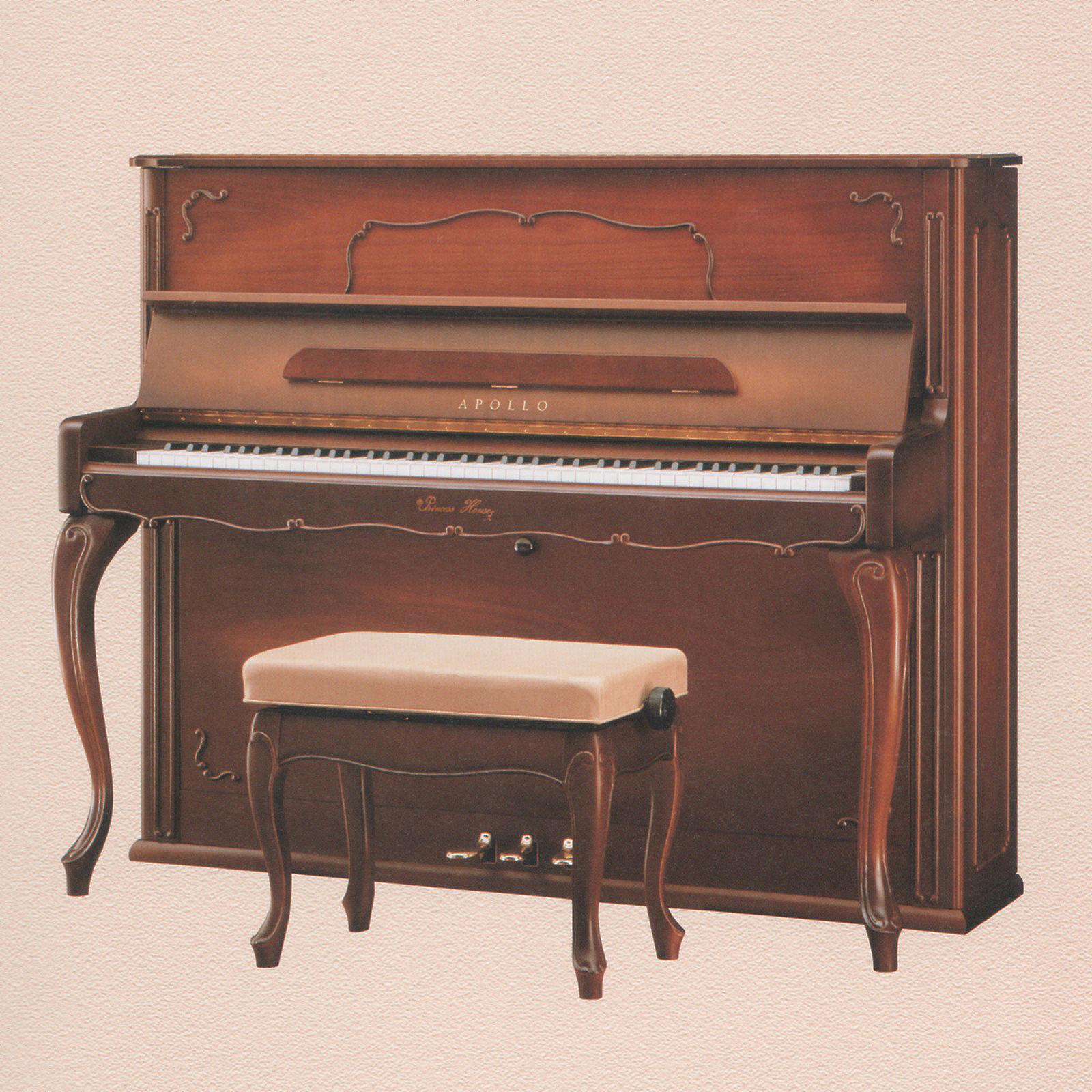 ピアノ Princess Lily brown