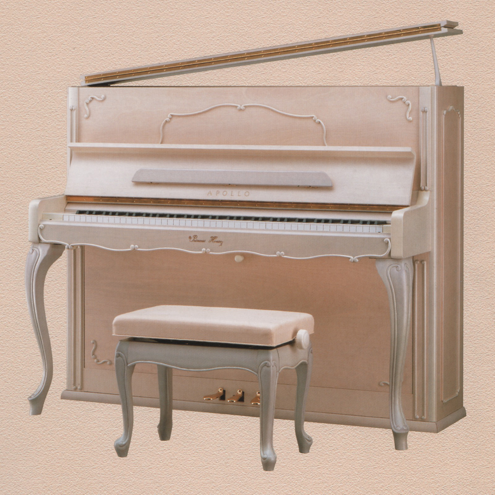 ピアノ Princess Lily ivory
