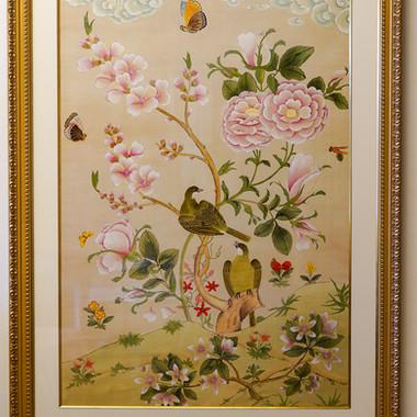 PC158絵画 花鳥風月