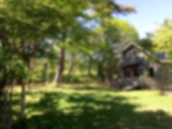 軽井沢 貸し別荘 フォレストガーデン軽井沢JKテラス