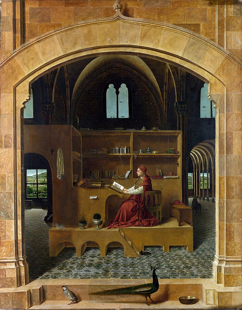 Antonello_da_Messina_-_St_Jerome_in_his_