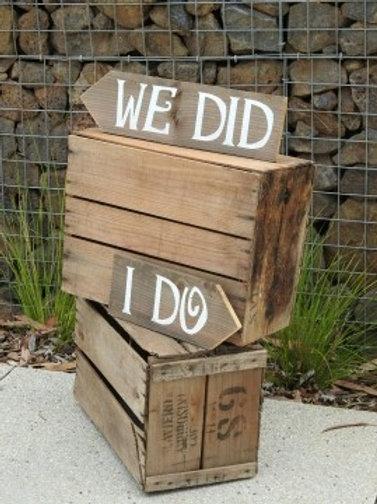 I Do We Did Box