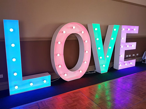 Coloured Love Letters